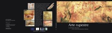 Cubierta Libro de Covadonga - caminos de arte rupestre prehistórico