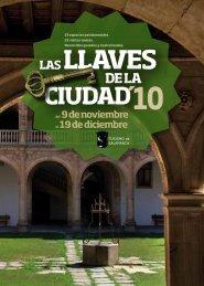 PDF con el programa completo - La Gaceta de Salamanca