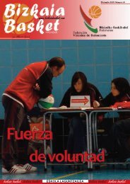 eskola laguntzailea - Federación Vizcaína de Baloncesto