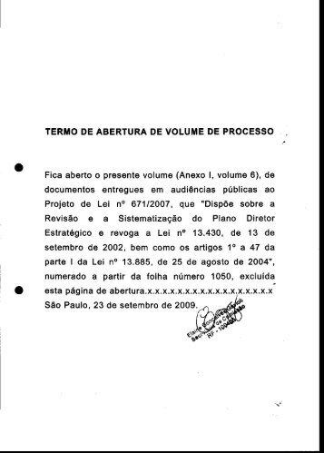 PL 0671-2007 Anexo 1 Volume 6