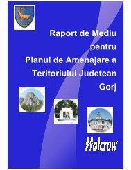 Raport de mediu PATJ Gorj - Consiliul Judeţean Gorj