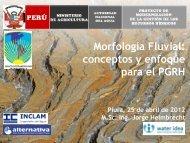 Morfología Fluvial - Autoridad Nacional del Agua