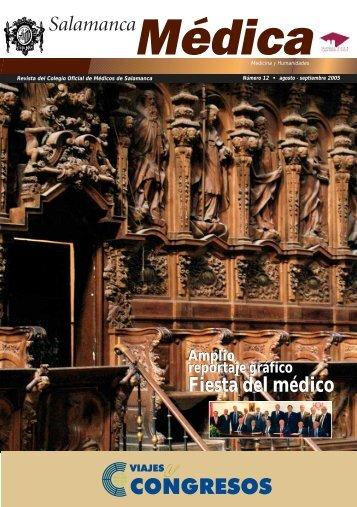 Fiesta del médico - Colegio Oficial de Médicos de Salamanca