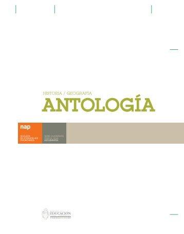 Antología : historia geografía - Repositorio Institucional del ...