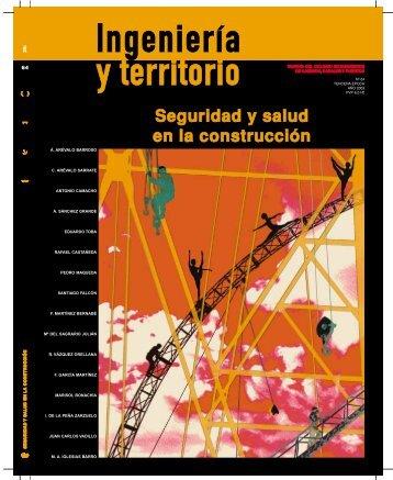 portada it-64 - Colegio de Ingenieros de Caminos, Canales y Puertos