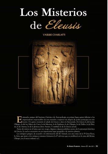 Los Misterios de Eleusis - Mundo Gnosis