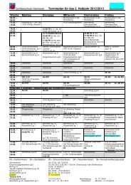 Terminplan 12-13 2 Hj ab 04-02-2013 - Schillerschule