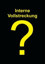 Interne Vollstreckung - Schiller-Software
