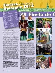 Programa XII Fiesta Gigantera - Ayuntamiento de Leganés