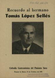 Tomás López Sellés - Universidad de Navarra