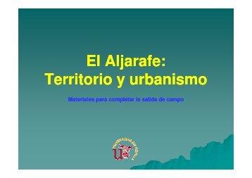 El Aljarafe: Territorio y urbanismo