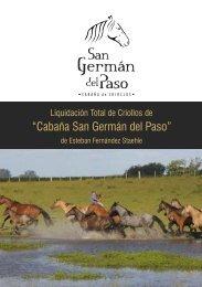 """""""Cabaña San Germán del Paso"""" - Zambrano & Cía."""