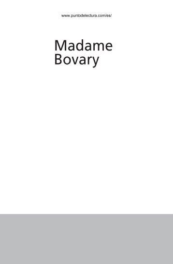 Madame Bovary - Punto de Lectura