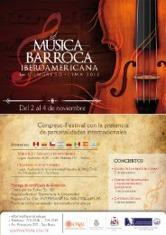 Programa - Real Academia de Bellas Artes de San Fernando
