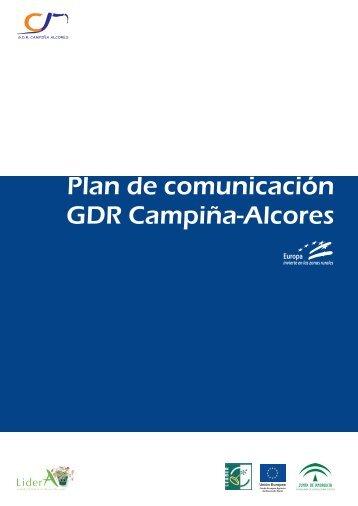 Plan de comunicación GDR Campiña-Alcores