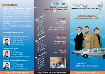 Schilling Schilling - SCHILLING B+C