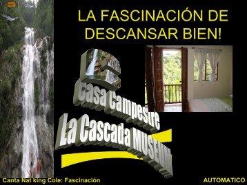 BIENVENIDO A LA BELLEZA Y AL RELAX ... - Campus Virtual