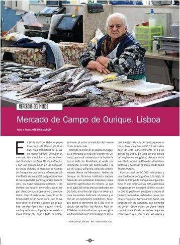 Mercado de Campo de Ourique. Lisboa - Mercasa
