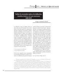 Sobre la aversión nula a la inflación. Analítica básica y el ... - UNAM