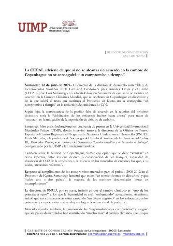La CEPAL advierte de que si no se alcanza un acuerdo en la ...