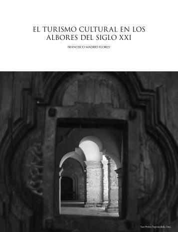 el turismo cultural en los albores del siglo xxi - Consejo Nacional ...