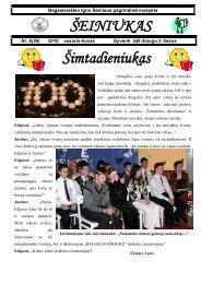 šeiniukas - Bagaslaviškio Igno Šeiniaus pagrindinė mokykla