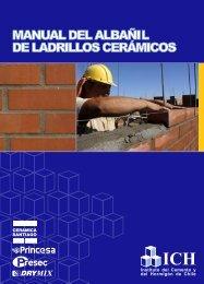 Manual del Albañil de Ladrillos Cerámicos - Cerámica Santiago