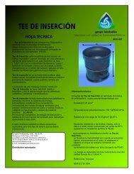 Tee de Inserción - Grupo Intelsolve