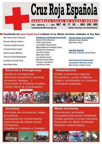 ASAMBLEA LOCAL DE CASAS IBÁÑEZ - Cruz Roja