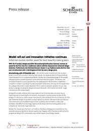 WSP Marketing PR iF Design award K 125 T 2011 11 01 ... - Schimmel