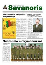 Nr. 6 (366) - Lietuvos kariuomenė