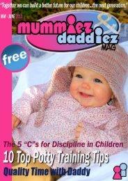 mummiez & daddiez magazine May - June Issue 2013