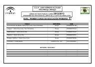 Libros de texto Primaria 2012_2013 - CEIP Juan Herrera Alcausa