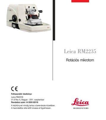 Leica RM2235 - Leica Biosystems