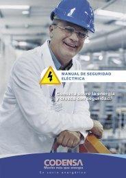 MANUAL DE SEGURIDAD ELÉCTRICA - Codensa