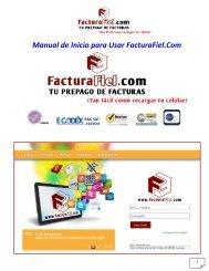 Guía / Manual de Inicio - FacturaFiel.com