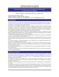 Efecto del uso del suelo sobre la actividad de la fosfatasa ácida en ...