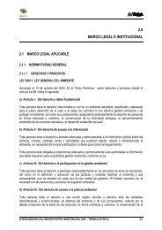 2.0 MARCO LEGAL E INSTITUCIONAL - Ministerio de Transportes y ...