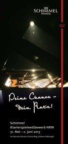 Schimmel Klavierspielwettbewerb NWR 2013 - Seite 2