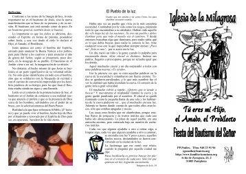 para abrir y descargar - Parroquia de San Juan Bautista