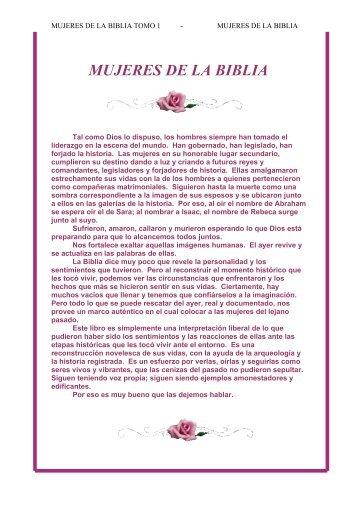Mujeres de La Biblia 1 Alef Guimel - Escritores Teocráticos.net