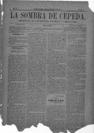 SOMBRA DE CEPEDA. - Biblioteca Virtual de Yucatán