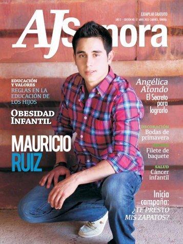 año 2 . edición no. 17 abril - AJ Sonora