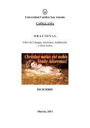 Lecturas del día - Universidad Católica San Antonio de Murcia