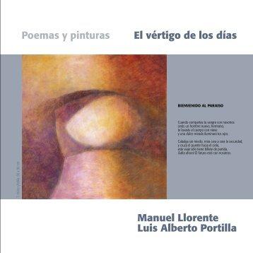 El vértigo de los días Poemas y pinturas Manuel ... - Luis Portilla