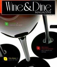 el sabor de Chile - Wine and Dine Magazine – Guatemala
