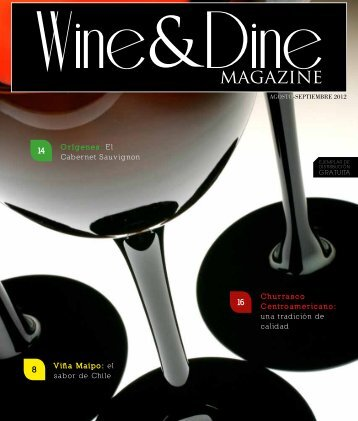 el sabor de Chile - Wine and Dine Magazine – Guatemala