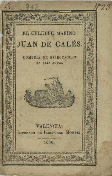 JUAN DE CALÉS.