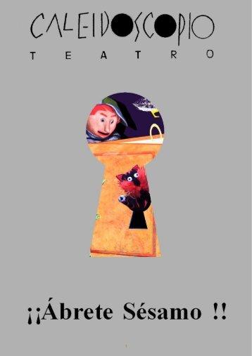 Dossier Abrete Sesamo - Caleidoscopio Teatro