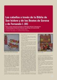 Los caballos a través de la Biblia de San Isidoro y de los Beatos de ...